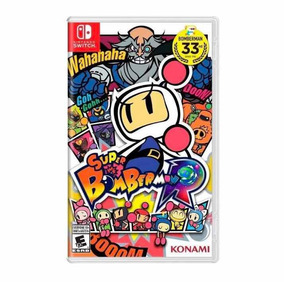 Jogo Super Bomberman R Nintendo Switch Original