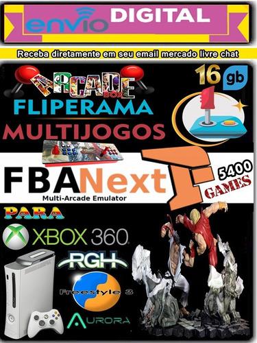 Multjogos Fba Next Xbox 360-rgh Envio Digital