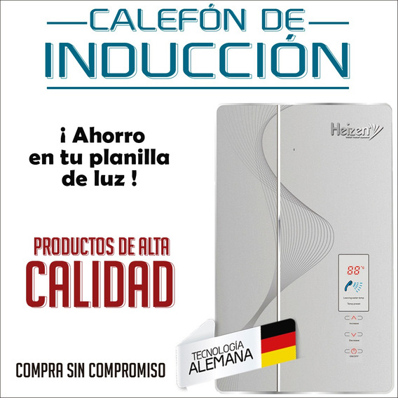 Calefón Eléctrico Quito - Calefón De Inducción Alemán