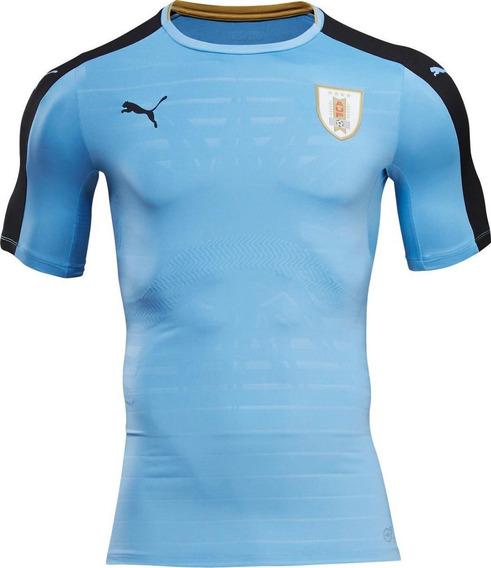 Jersey Original Puma Selección Uruguaya Uruguay 2016-2017