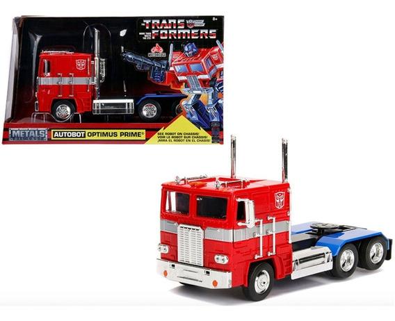 Optimus Prime G1 Autobot Clásico Transformers 1/24 Jada New