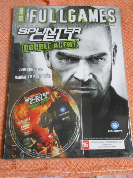 Splinter Cell - Double Agent ( Game Pc ) Fullgames & Lacrado