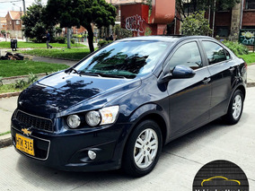 Chevrolet Sonic Lt Mt 1600cc 4p 2ab Abs Ct