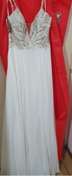 Vestido Blanco Ideal Para Novia O Quinceañera(nuevo) Talle 4