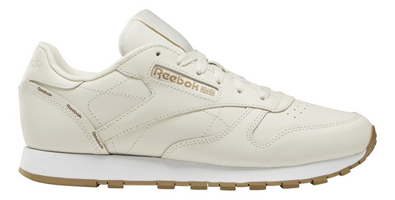 Zapatillas Reebok Moda Classic Leather Mujer Be/be