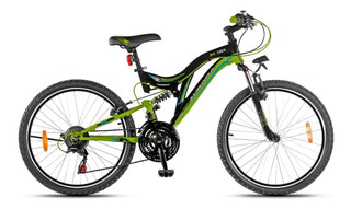 Bicicleta Aurora 24 Dsx Mountain Bike R24 Doble Suspensión *