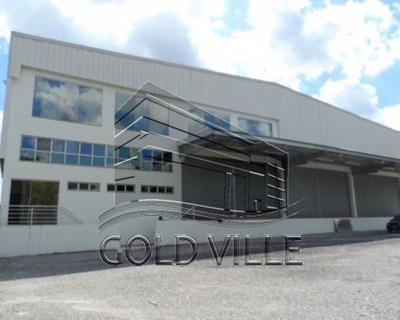 Galpão Industrial À Venda, Chácaras Bartira, Embu Das Artes - Ga2993. - Ga2993