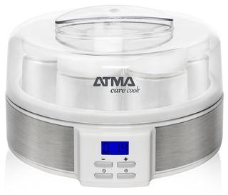 Yogurtera Atma Ym3010n - 7 Jarros De Vidrio De 200 Ml