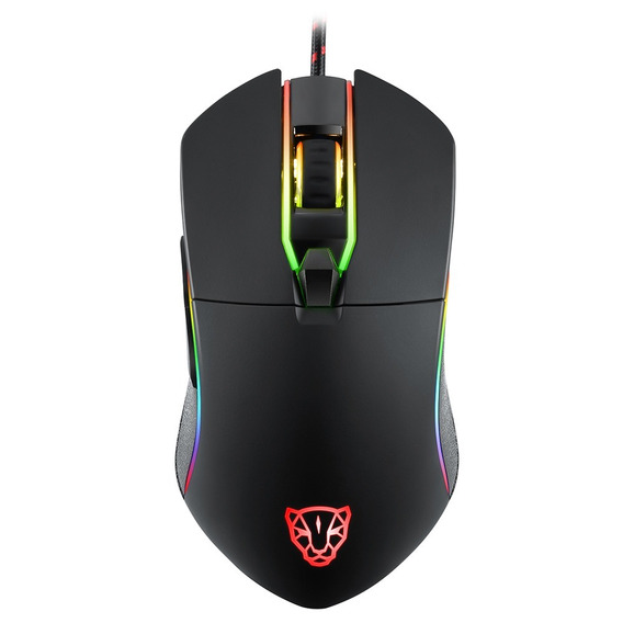 Mouse Motospeed V30 Rgb Gamer Pronta Entrega Garantia + Nf