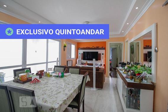 Apartamento No 1º Andar Com 3 Dormitórios E 2 Garagens - Id: 892992520 - 292520