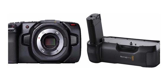 Blackmagic Pocket 4k + Grip Batery Vista 8370,00 + Brinde