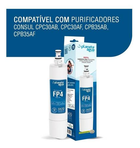 Kit 2 Refil Fp4 P/ Purificador Consul Facilite Bem Estar