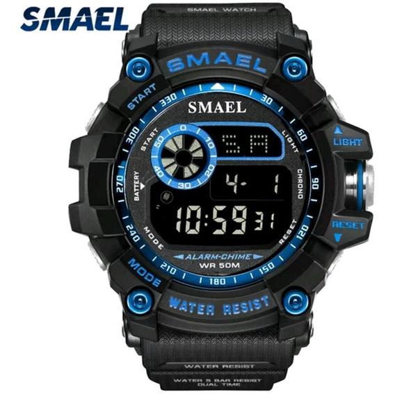 Relógio Smael 8010 Militar Tático Shock Esportivo Original