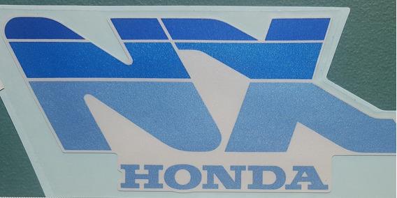 Calcomania De Carenado Honda Nx250 Original Japon