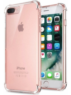 Forro Transparente Slim iPhone 6 6+ 7 7+ 8 X Xr Xs Xs Max