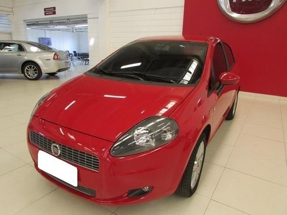 Fiat Punto 1.4 Attractive Vermelho 8v Flex 4p Manual 2012