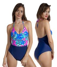 df79206966 Maiô Feminino Engana Mamãe Estampado Moda Praia Verão 2019. 2 cores