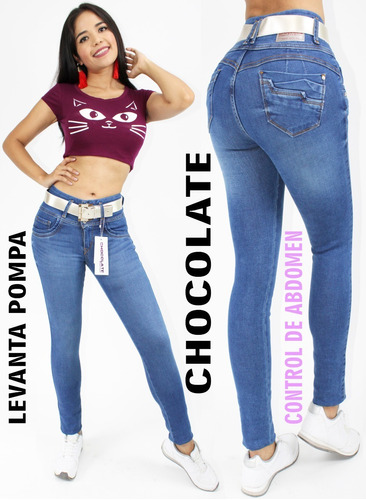Llevate 3 Jeans Marca Chocolate Varios Modelos Mercado Libre