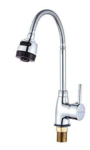 Mezcladora Monomando Tarja Cocina Cuello Flexible 2 Modos