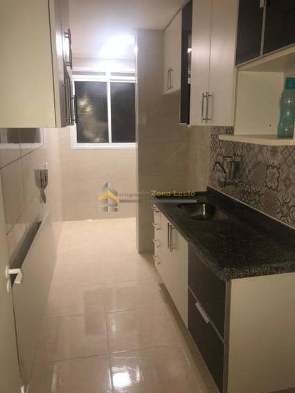 Apartamento Em Condomínio Padrão Para Locação No Bairro Tatuapé, 2 Dorm, 1 Vagas, 51 M² M - 3811