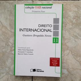 Livro Direito Internacional 11 Coleção Oab Nacional 1ª Ed