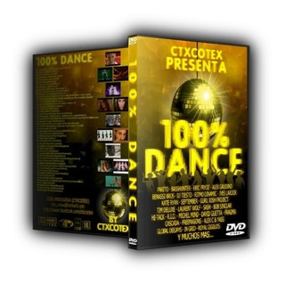 3 Dvds 100% Dance Vol.1, 2 E 3 (originais E Lacrados)