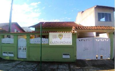 Casa Linear Independente Com Amplo Quintal (não Geminada) Jardim Marilea! - Ca0738