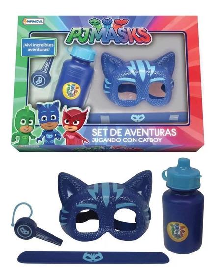 Juguete Mascara Set De Aventuras Pj Masks Babymovil