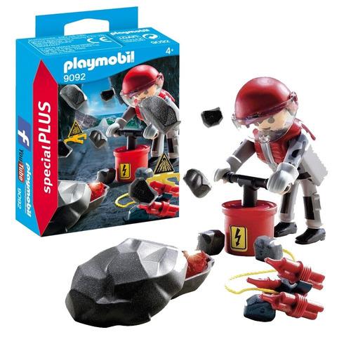 Playmobil Muñeco Special Plus Explosión En Las Rocas 9092