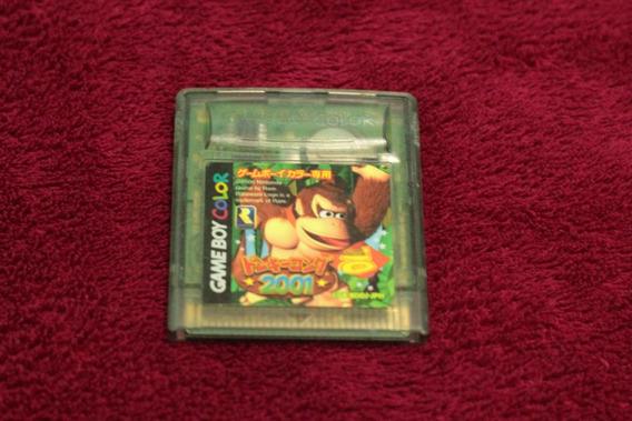 Jogo Donkey Kong Original Para Nintendo Game Boy Color Cod-5