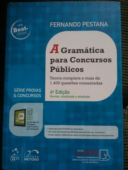 Gramática Para Concursos Públicos - Pestana