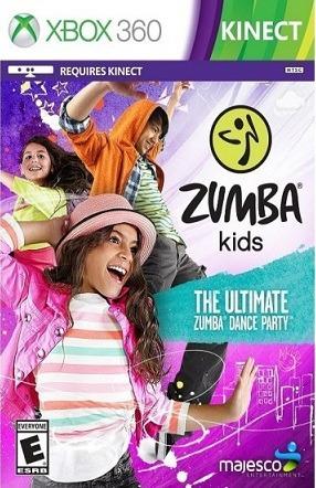 Jogo Zumba Kids The Ultimate Zumba Dance Party Xbox360 Origi