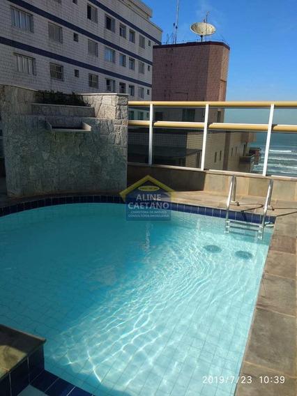 Apartamento Com 1 Dorm, Tupi, Praia Grande - R$ 180 Mil, Cod: Ac4032 - Vac4032