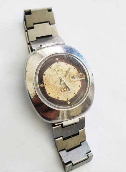 Antigo Relógio De Pulso Orient Automático - Para Revisar