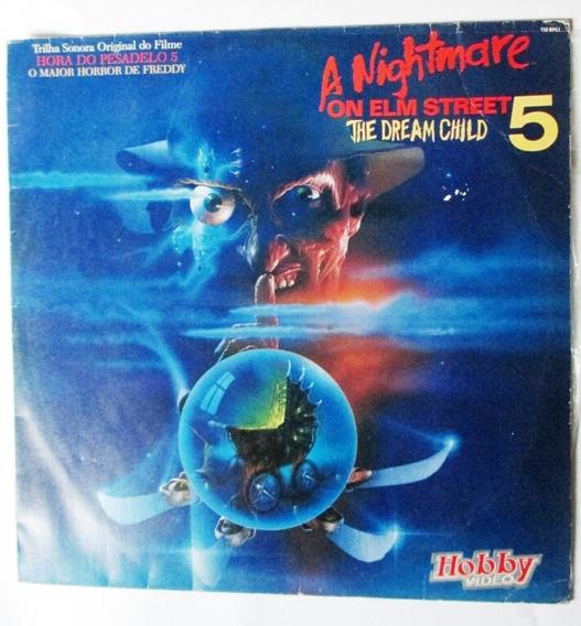 Vinil Disc Lp Soundtrack The Nightmare On Elm Street 5 (90)