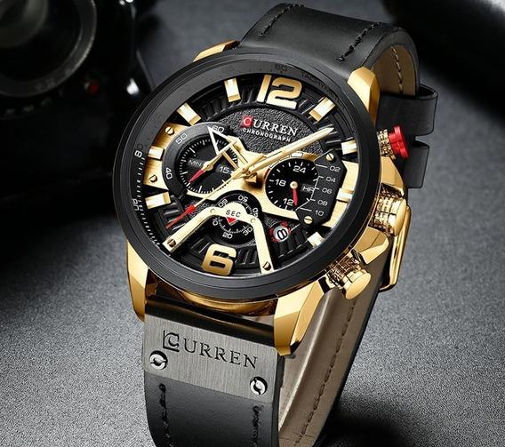 Relógio Curren, Masculino Esportivo Original