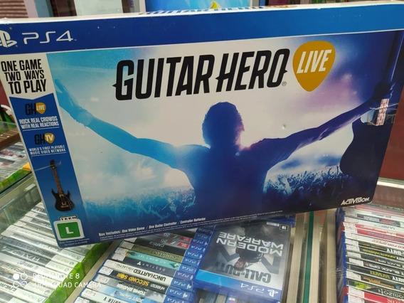 Guitar Hero Live Playstation 4 Ps4 Original! Frete Gratis!