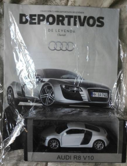 Colecc. Deportivos De Leyenda. Audi R8 V10. Escala 1/38