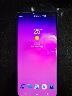 Celular Samsung Galaxy S10+ Ceramic Black 512gb