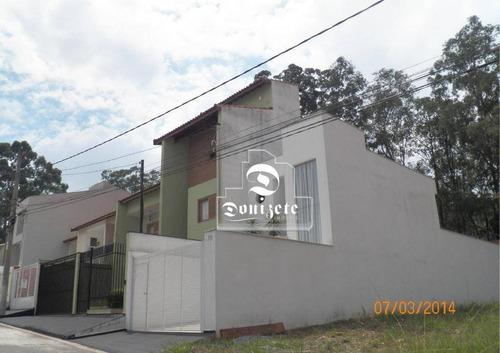 Terreno À Venda, 125 M² Por R$ 250.000,00 - Parque São Vicente - Mauá/sp - Te0723