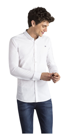 Camisa Bosnia Rio Cigala Blanco Hombre Key Biscayne