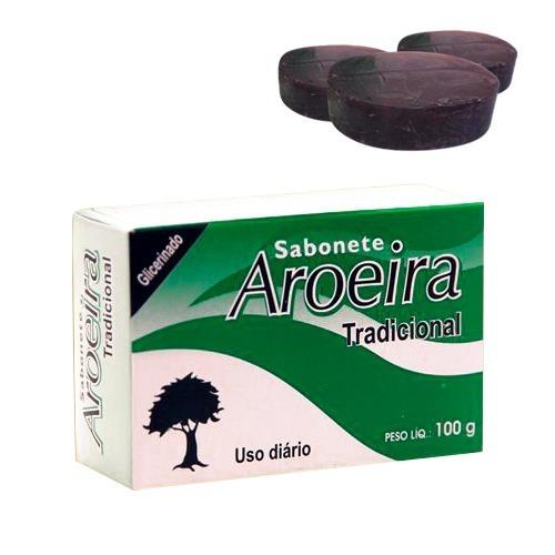 12 Sabonete De Aroeira Em Barra Tropical