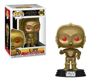 Funko Pop! Star Wars - C-3po Red Eyes Metallic 360