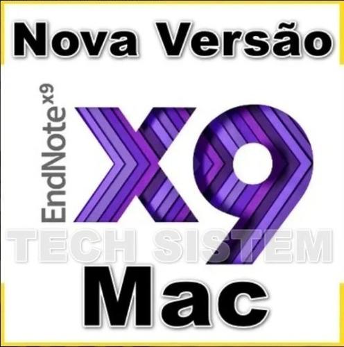 Endnote X9 Mac ( Refêrencias Bibliográficas) Catalina Ok