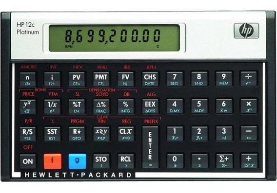 Calculadora Financeira Hp 12c - Platinum