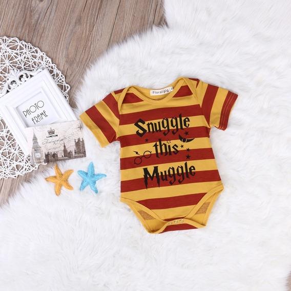 Body Harry Potter Grifinória Hogwarts Bebê Frete Gratis