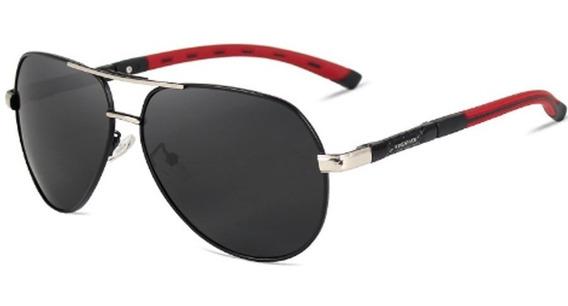 Oculos De Sol Aviador Police Anti Uva E Uvb Masculino