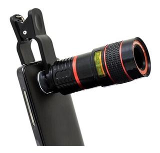 Lente Luneta Telescópio Para Celular Smartphone Zoom 8x