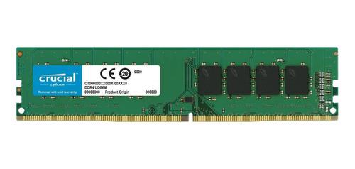 Memoria RAM 4GB 1x4GB Crucial CT4G4DFS8266