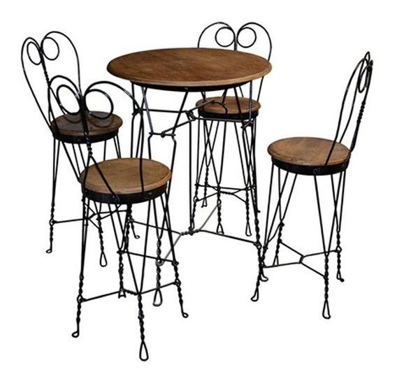 Mesas Para Restaurante Bar Artesanal Muebles Mexicanos